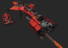 Battleship - Red Horizon by Daemoria