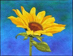 Summer Sunflower by Sonya Prchal (New Zealand).  Workshop.