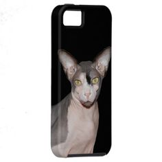 iPhone Vibe Case with Sphynx Cat Ninja black