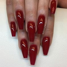 Competition Red från #lillynails