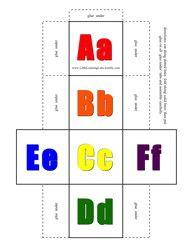 alphabet both cases - 3 versions