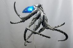 Upcycled Hub Caps Become Amazing Sculptures | Hubcap Upcycle: Octopus