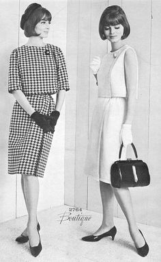 Fashion, 1963  This was and still is my kind of style.
