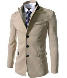 Men's Single Breasted Dress Jacket