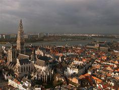 Antwerp Belgium, beautiful city.  I have fond memories of weekend visits with my Belgian friend Katelijne