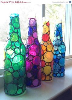 It's really fun to make home decor using glass bottles which you no longer use. You just need a few creative ideas. You can easily make handicrafts or home decor items using glass bottles. You can make simple paintings on the bottle using fabric colors. Its looks really colourful and pretty you just need a …