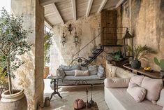 Rustic Italian Home Italian Farmhouse, Rustic Italian, Outdoor Rooms, Outdoor Living, Casa Magnolia, Interior Architecture, Interior Design, Outside Living, Spanish House