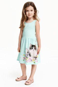 Sleeveless jersey dress | H&M