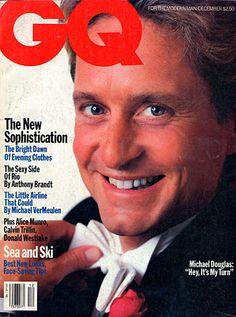 Michael Douglas for GQ, December 1985