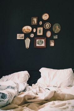 Decorare la parete del letto