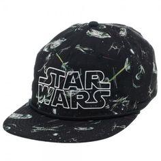 Star Wars Sublimated Snapback Hat