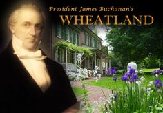 President James Buchanan's Wheatland Mansion, the Yuletide Tour is a must at Christmas time! Presidential History, Presidential Libraries, Lancaster Pennsylvania, Lancaster County, American Presidents, Us Presidents, Keystone State, Vacation Spots, Vacation Ideas