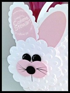 Easter Big Bunny Basket, Created by Connie Stewart