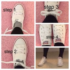 How to tie Converse