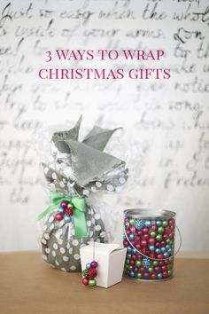 How to Wrap Christmas Presents – 3 Colorful Coordinated Ways to Wrap Difficult Objects #MichaelsMakers