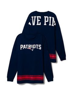 New England Patriots Varsity Crew - PINK - Victoria's Secret