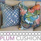 Plum Cushion on Etsy