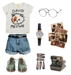 """Untitled #22"" by itskoda on Polyvore featuring Retrò, ZeroUV, Limit and Polaroid"