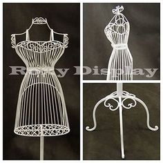 Female Metal Wire Form with Antique Metal Base #TY-XY140075W