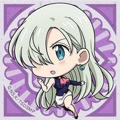 Elizabeth Liones (The Seven Deadly Sins) Elizabeth Seven Deadly Sins, Seven Deadly Sins Anime, 7 Deadly Sins, Meliodas And Elizabeth, Elizabeth Liones, Anime Chibi, Kawaii Anime, Seven Deady Sins, 7 Sins