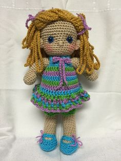 Kate - crocheted doll, found on etsy @memawscountrycrafts