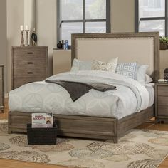 Found it at Joss & Main - Chelsea Upholstered Panel Bed  $700.00 King