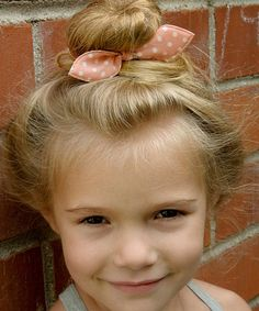 Take a look at this Pink & White Polka Dot Bunny Ears Hair Tie on zulily today!