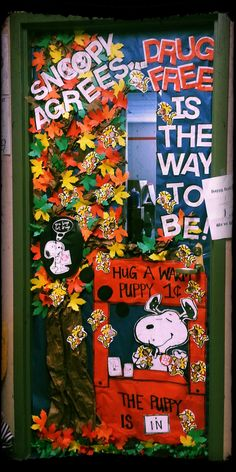 drug free is the way to be molhoeks grade class fall designed by stephanie stout - Free Decoration Ideas