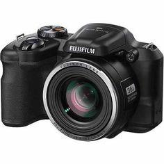 Fujifilm Black FinePix S8600 Digital Camera with 16 Megapixels and 36x Optical Zoom