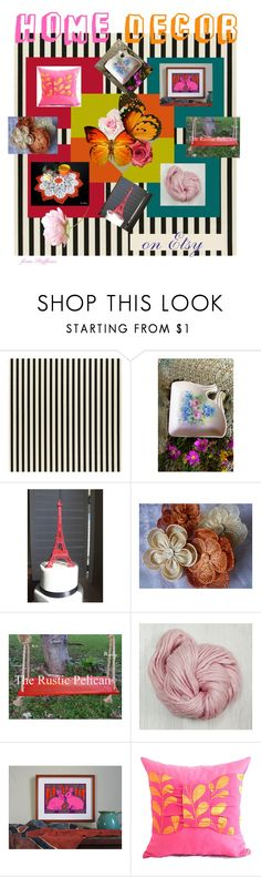 """""""HOME DECOR  on Etsy"""" by stuffezes ❤ liked on Polyvore featuring interior, interiors, interior design, home, home decor, interior decorating, rustic and vintage"""