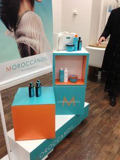 #Moroccanoil salon marketing by @dcwdesign #windows #retail