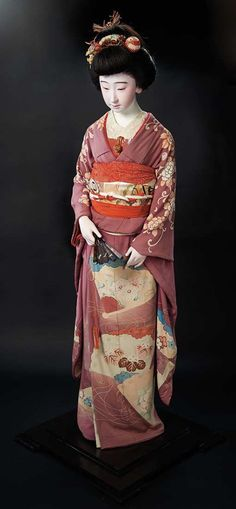 An Outstanding Iki-Ningyo with Exquisite Portrait Face Gifted to Shirley Temple.