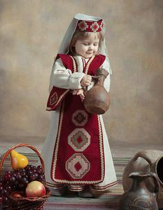 Armenian Language, Armenian People, Armenia Travel, Armenian Culture, Turkish Fashion, Cute Baby Girl, Beautiful Children, Traditional Outfits, Character Inspiration