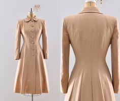 Lilli Ann 1940s Princess Coat. Just look at the seaming detail!