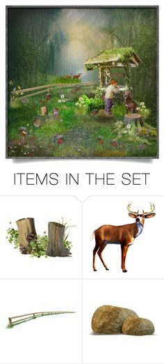 """""""The Wishing Well"""" by cathy1965 on Polyvore featuring art"""