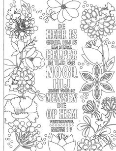 Bible Crafts, Bible Art, Bibel Journal, Bible Verses For Kids, Bible Coloring Pages, Bible Pictures, Doodle Lettering, Illustrated Faith, Flower Art
