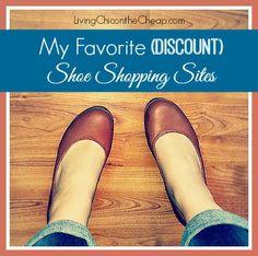 My Favorite (Discount) Shoe Shopping Sites #CuteShoes #Fashion