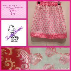 Handmade by Katie Batie Very cute pink Princess Crown Skirt.