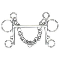 Mullen Mouth (straight bar) Pelham Bit With Curb Chain 5 by William Hunter Equestrian. Mullen Mouth (straight bar) Pelham Bit With Curb Chain Tack Store, English Tack, Fox Hunting, Horse Bits, Pony, Horses, Equestrian, Mouths