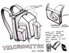 One Hour Design Challenge: Reinvent the Backpack : TreeHugger