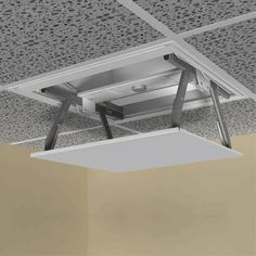 Hide projector in the ceiling :D