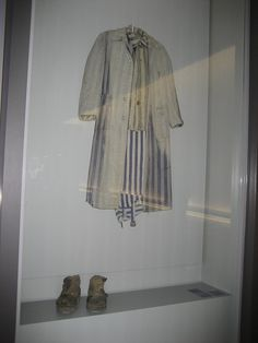 Anne Frank In Concentration Camp | Clothes they had to wear. I can't imagine this being much help in ...