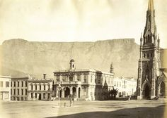 Page 1 of 1 from 32 Hotels Near Greenmarket Square, Cape Town Old Pictures, Old Photos, Cape Colony, Most Beautiful Cities, Back In Time, Historical Pictures, African History, Cape Town, Old Houses
