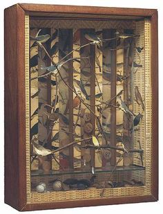 Joseph Cornell ~ Untitled (1942) box construction