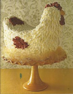 Ok, this is a cake but since it's also a chicken, I put it on the Farm board.  Bwahahahaha!  :D