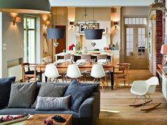 Jak połączyć kuchnię z salonem? Aneks kuchenny.