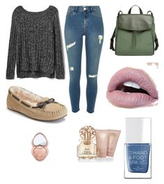 """""""I want adventure in the great wide somewhere."""" by tphillips356 on Polyvore featuring Gap, Skagen, The Hand & Foot Spa, Vince Camuto and Too Faced Cosmetics"""