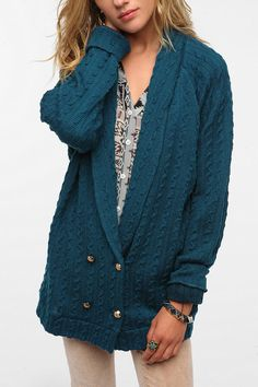 Urban Outfitters - Ladakh Albatross Cardigan GREAT COLOR!  Aptly Named; some days I do feel like an Albatross...