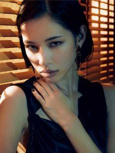 Make up on Kiko Mizuhara