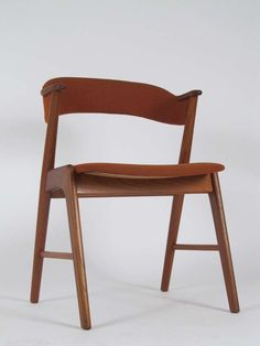 Single Kai Kristiansen Danish Modern Teak Dining Chair image 6
